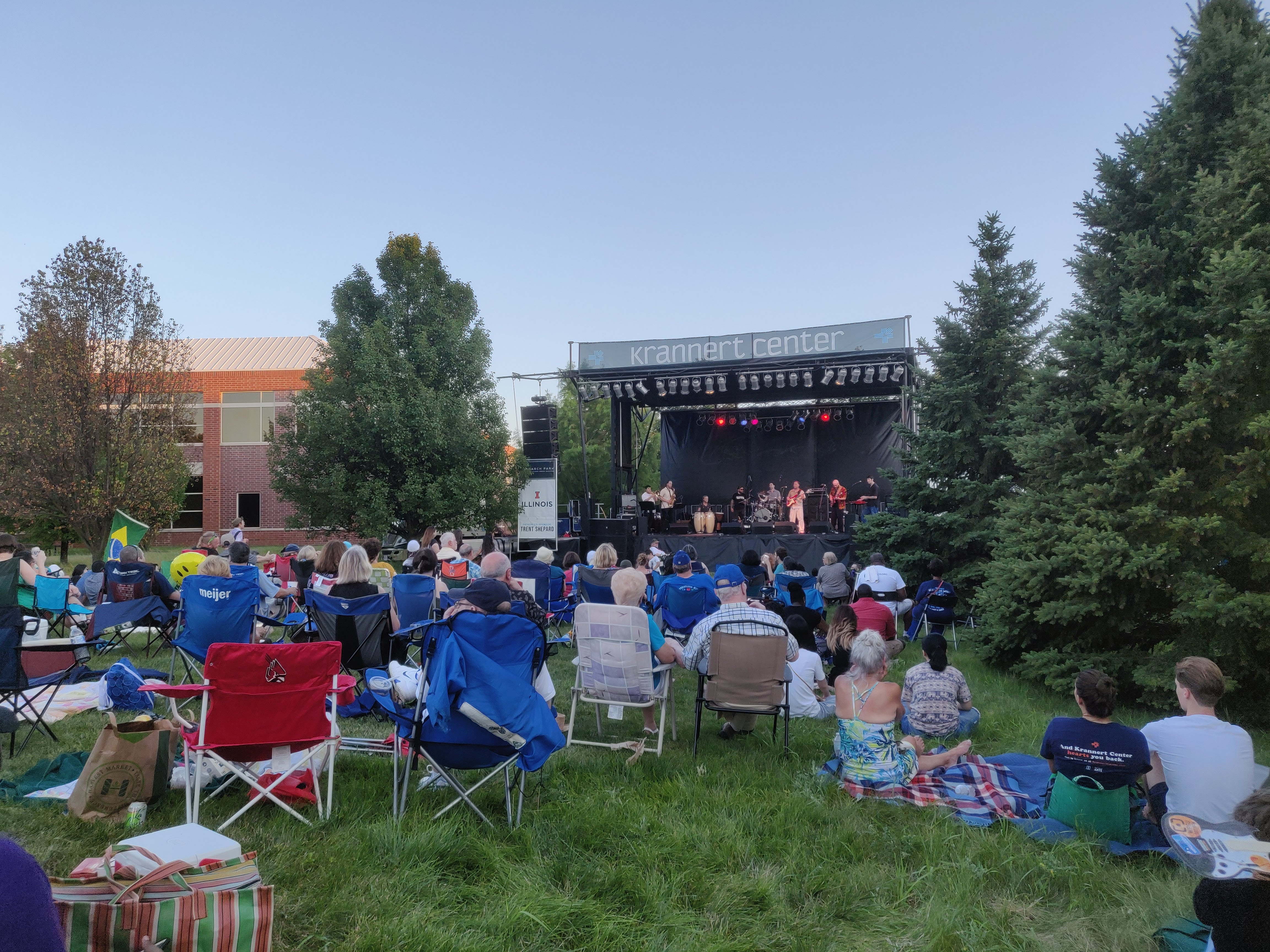 OUTSIDE at the Research Park 2019
