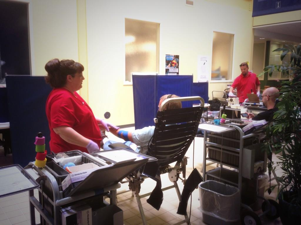Research Park Blood Drive