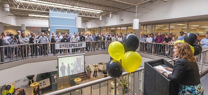 Caterpillar 15 Year Celebration