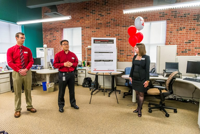 Discussion at State Farm's 10 Year Anniversary Event