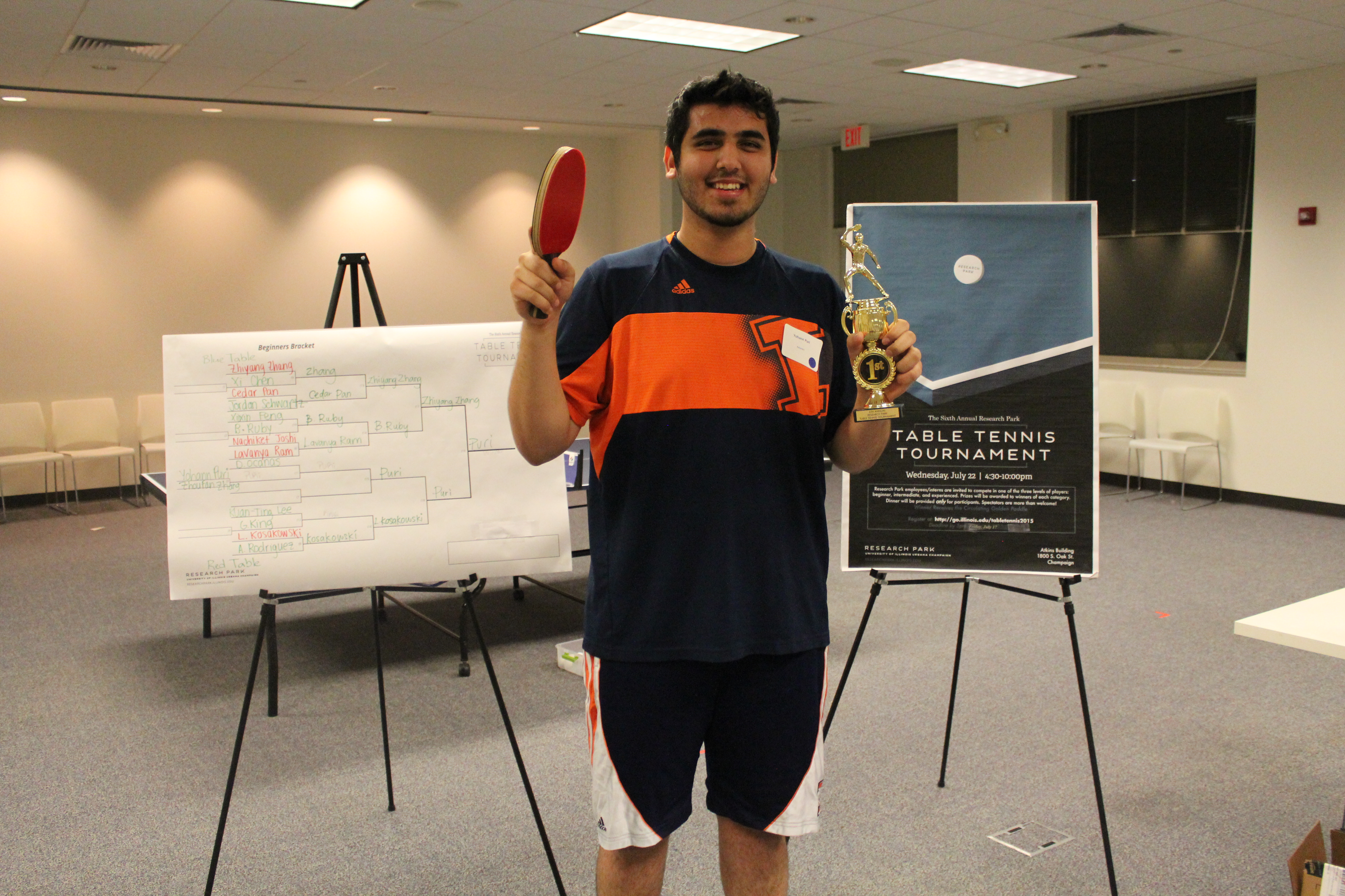 2015 Table Tennis Tournament