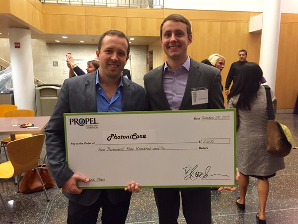 PhotoniCare Takes Second Place in PROPEL Business Plan Competition 3 PhotoniCare Takes Second Place in PROPEL Business Plan Competition