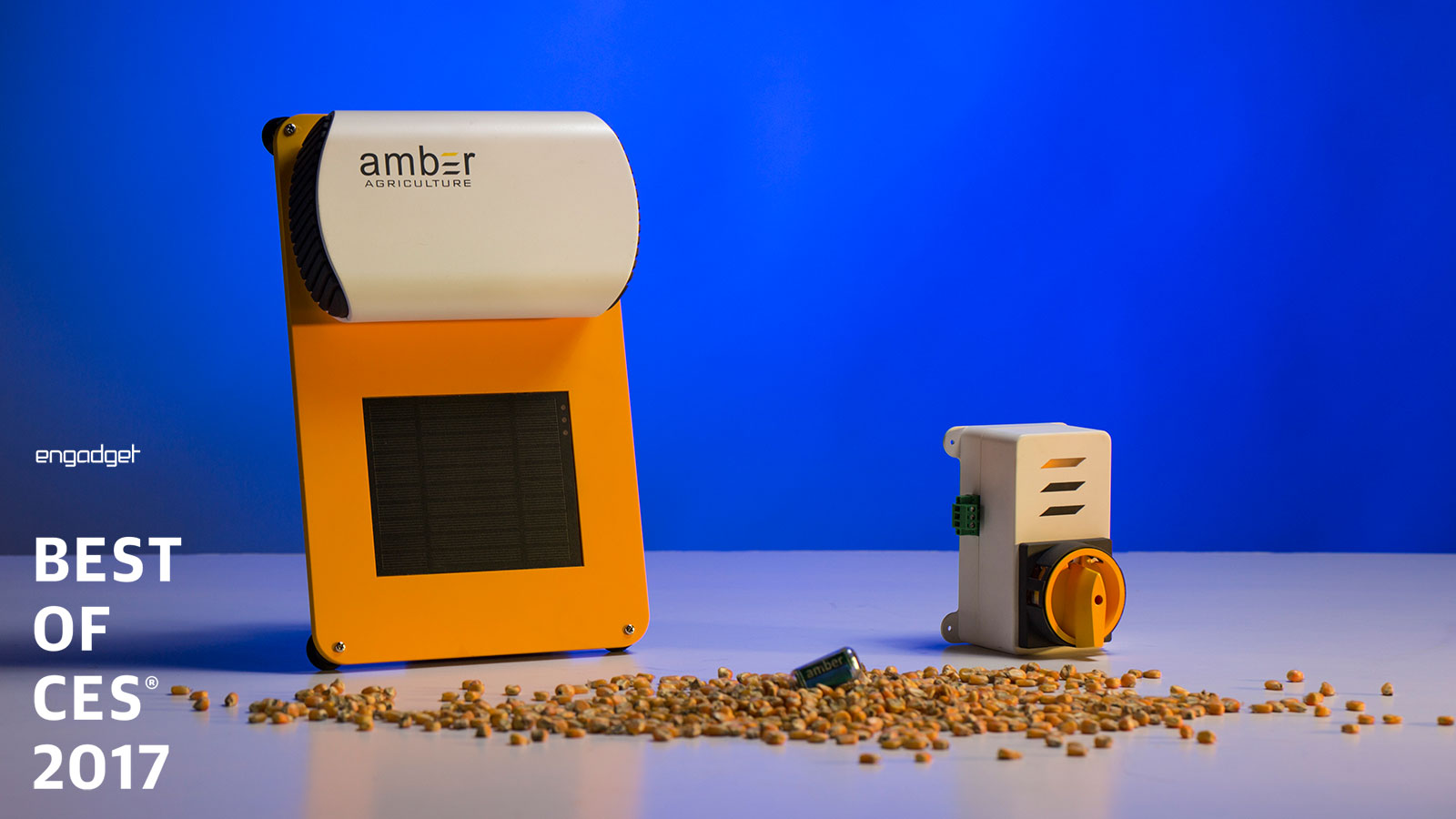 amber agriculture CES Startup winner