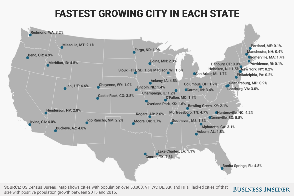 fastest-growing-city-in-each-state-2017