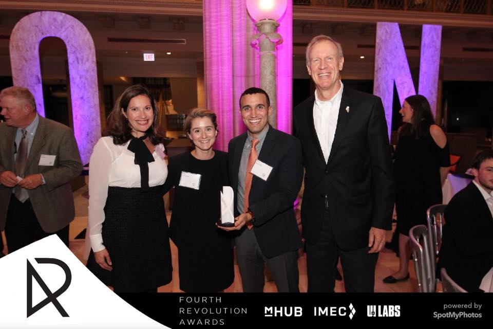 Laura Frerichs, Amy LaViers, Eric Minnick, Bruce Rauner