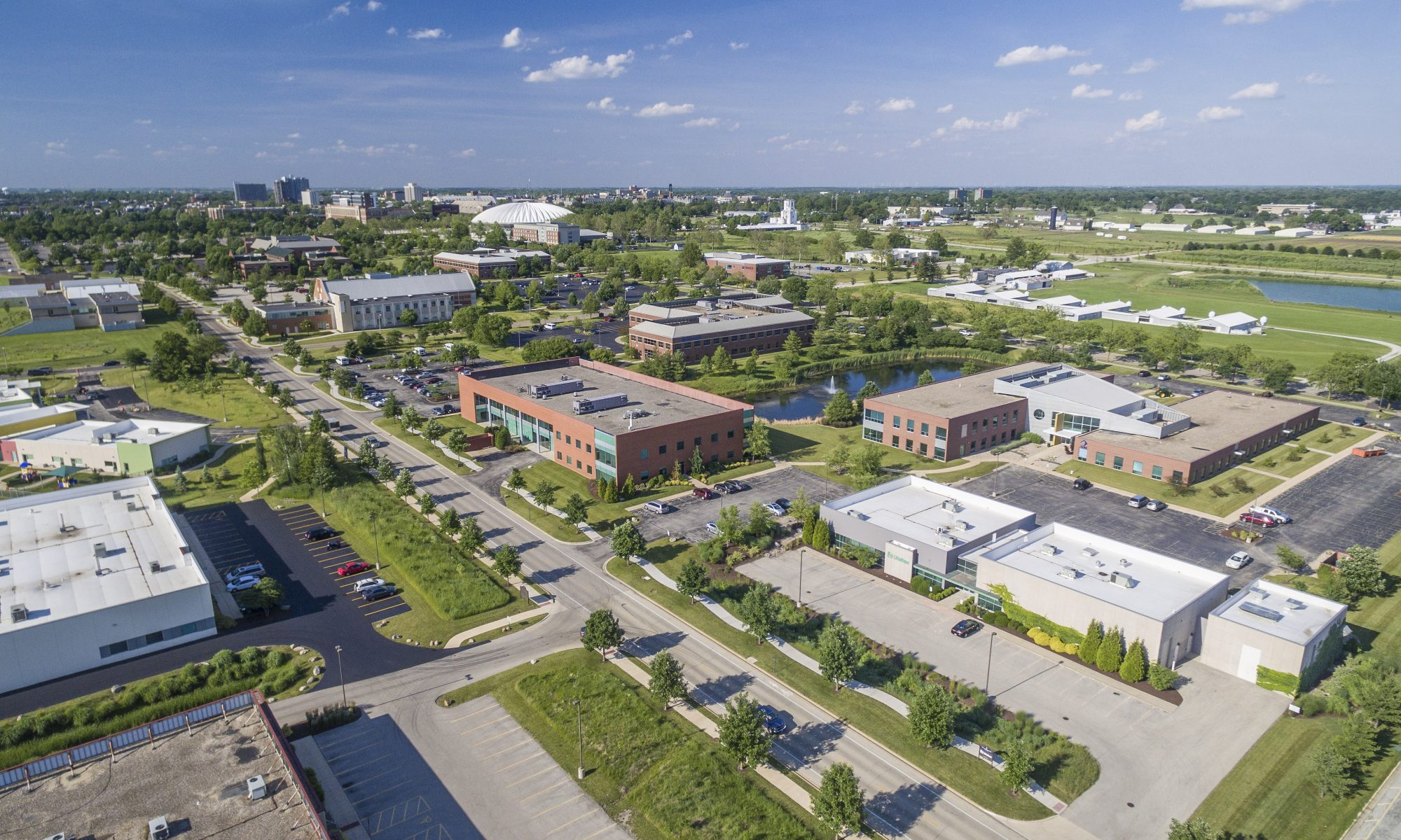 Research Park Arial View