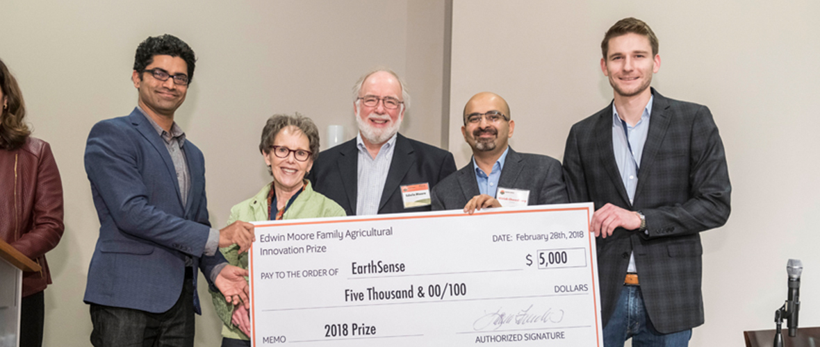 EarthSense Edwin Moore Family Agriculture Innovation Prize