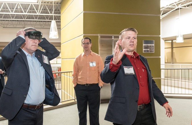 Augmented reality Technology Growing at AGCO's Acceleration Center
