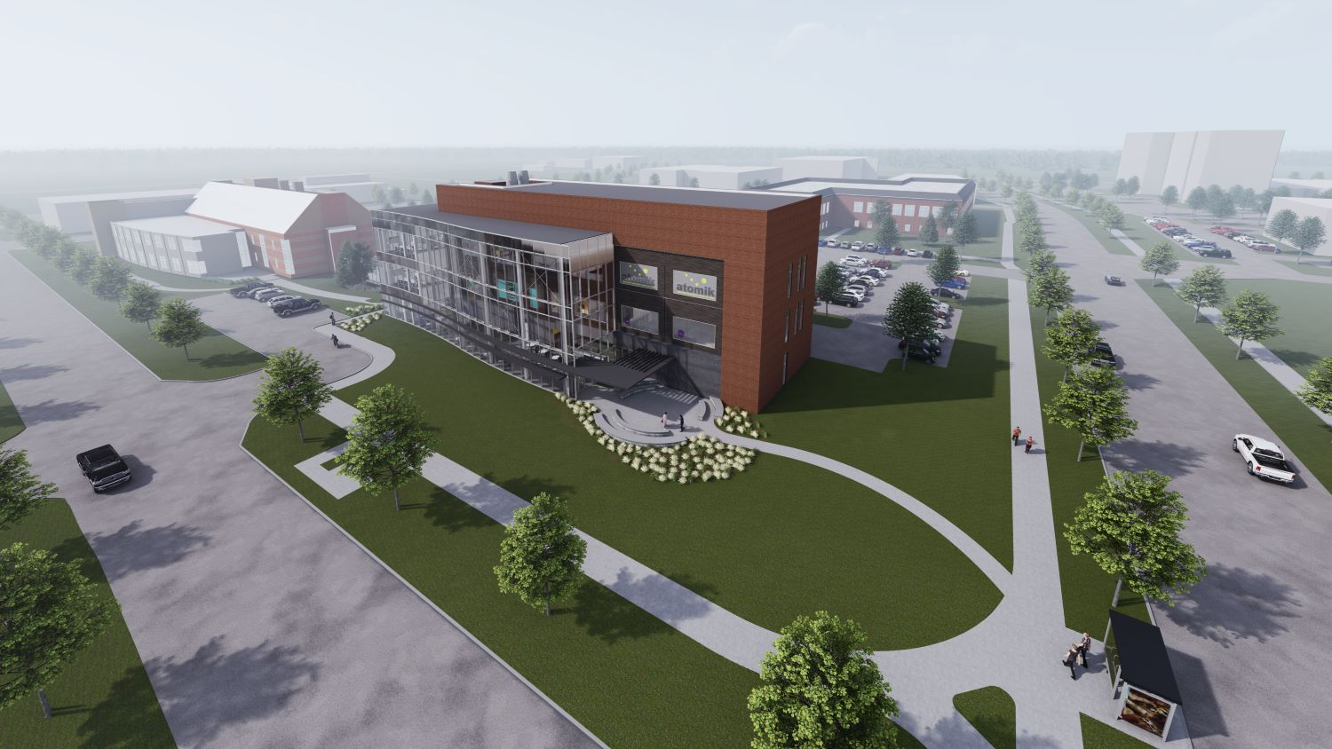 Research Park Commons and EnterpriseWorks Incubator Expansion