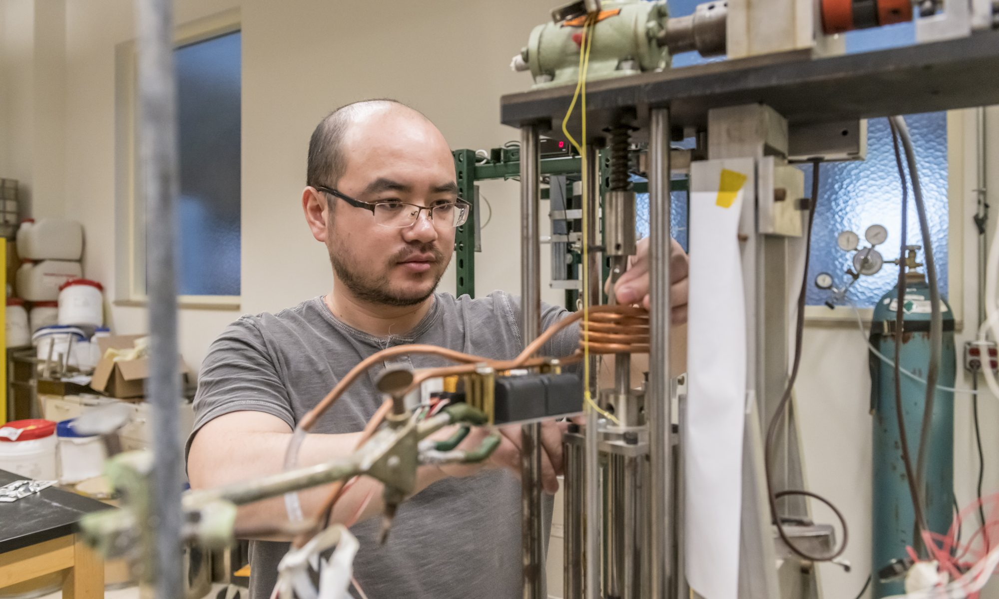 Pixiang Lan, Lead Operations at ATSP Innovations, Works in the EnterpriseWorks Laboratory