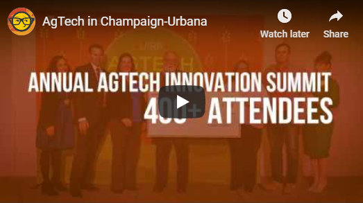 """Champaign-Urbana: """"The Epicenter of AgTech"""" 1 Champaign-Urbana: """"The Epicenter of AgTech"""""""