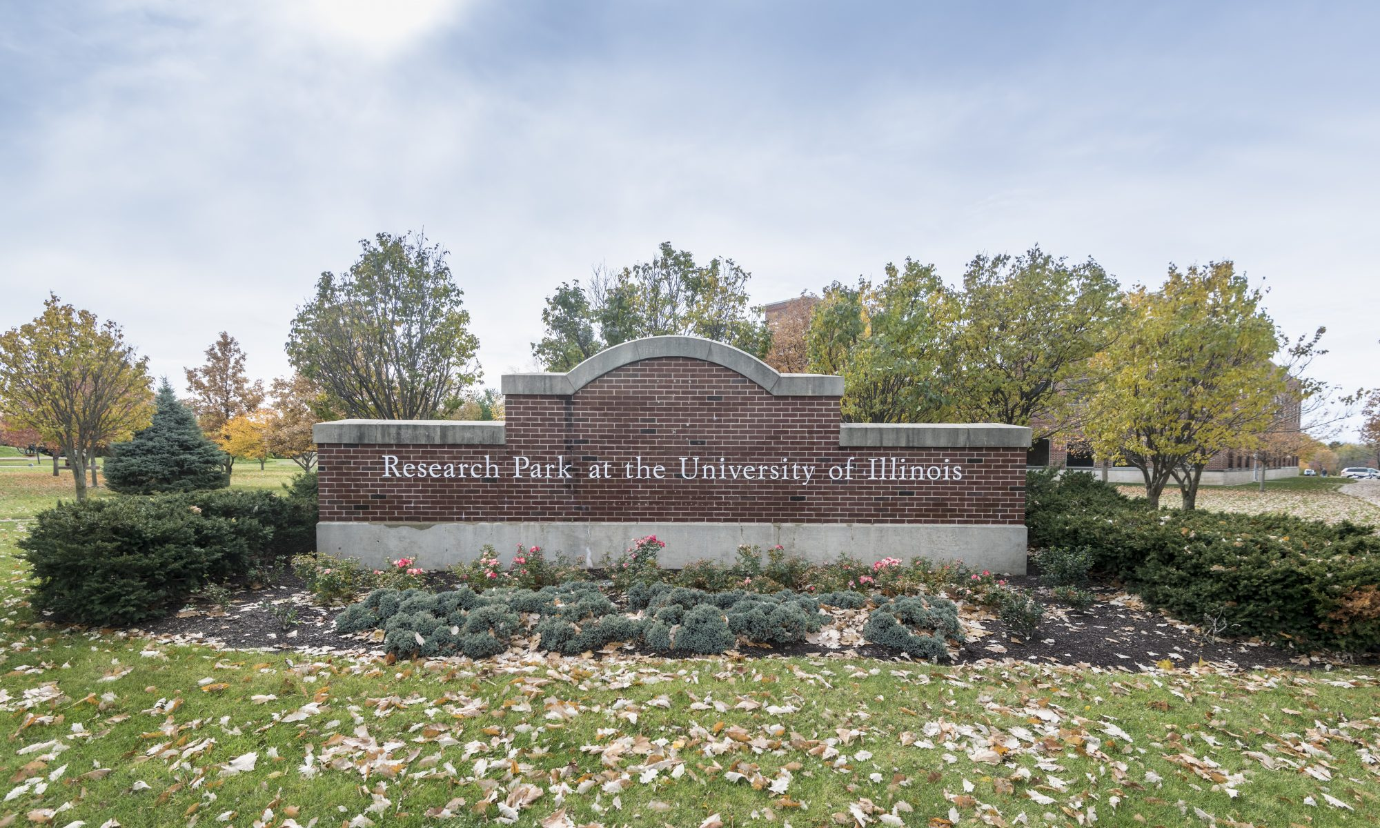 Research Park Sign