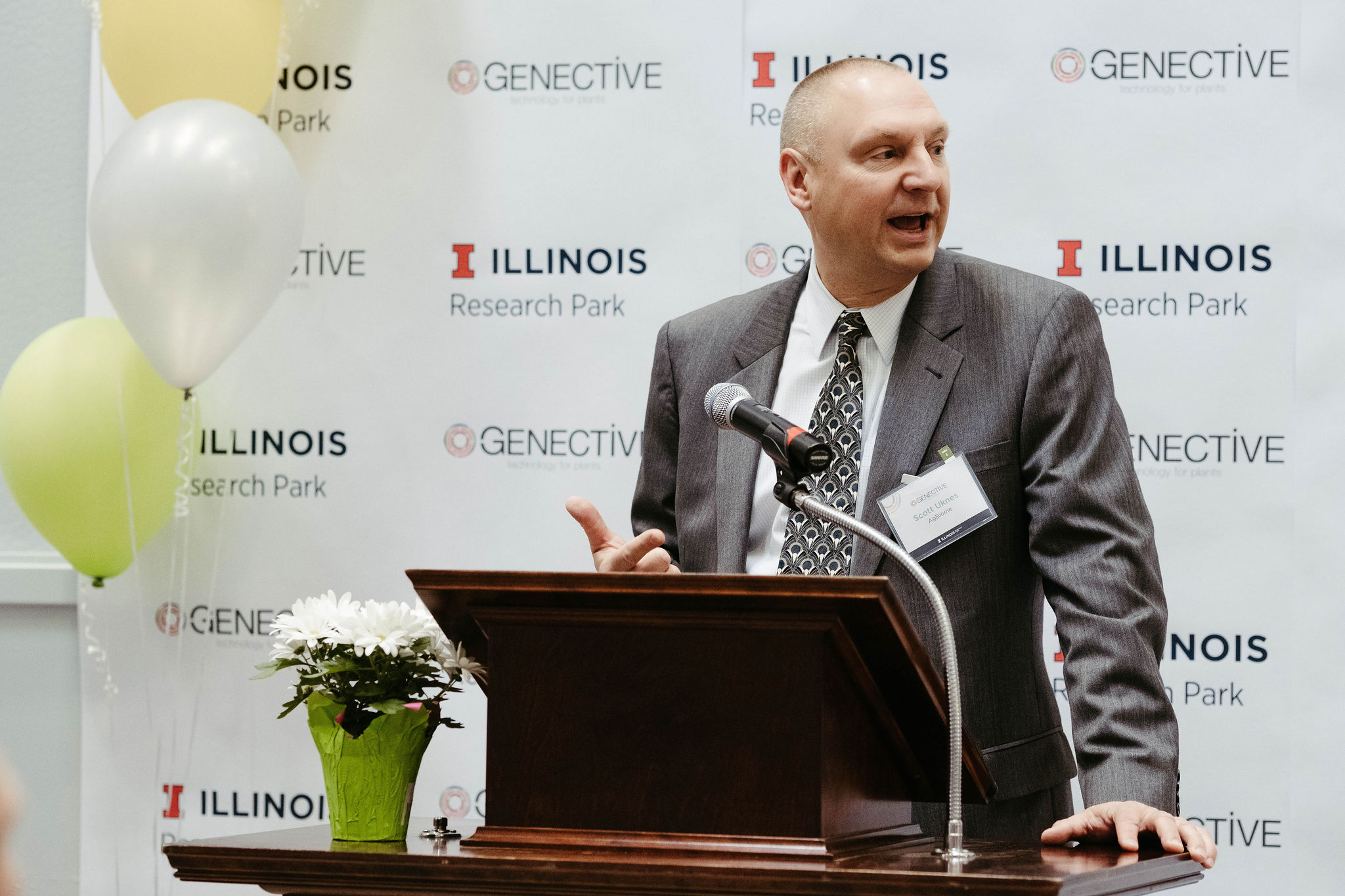Talks at the Genective Grand Opening