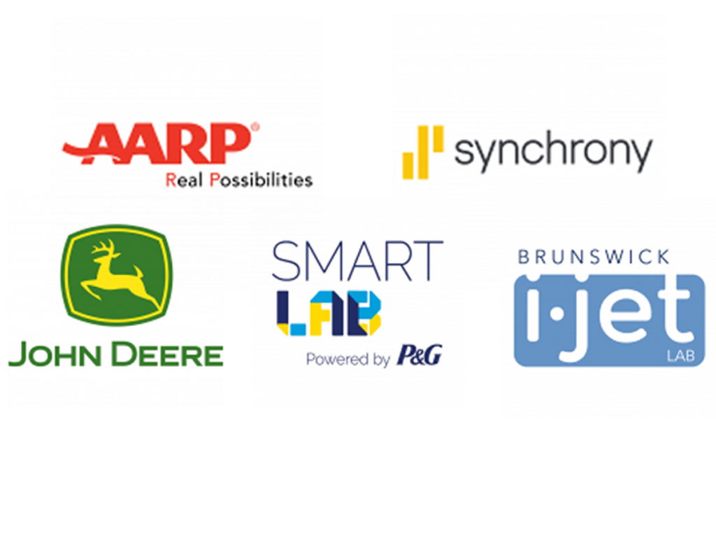 Sponsors from the 2020 Research Park Career Fair