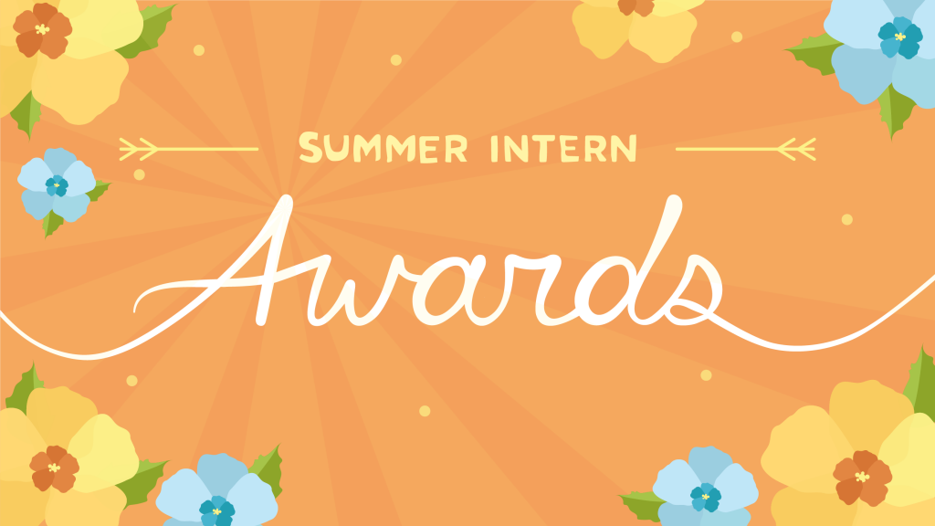 Summer Intern Awards