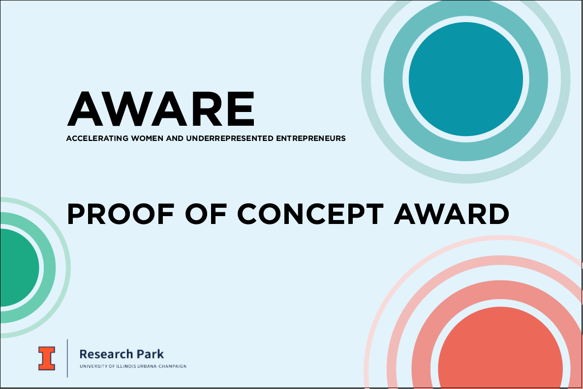 AWARE Program Awards Five Teams with Proof of Concept Funding 1 AWARE Program Awards Five Teams with Proof of Concept Funding