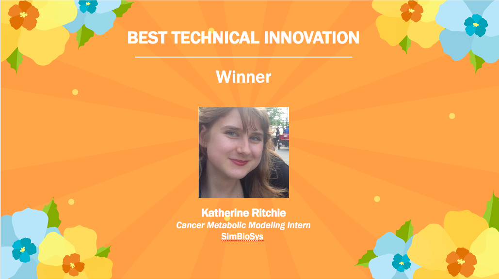 Katherine Ritchie, Best Technical Innovation Winner