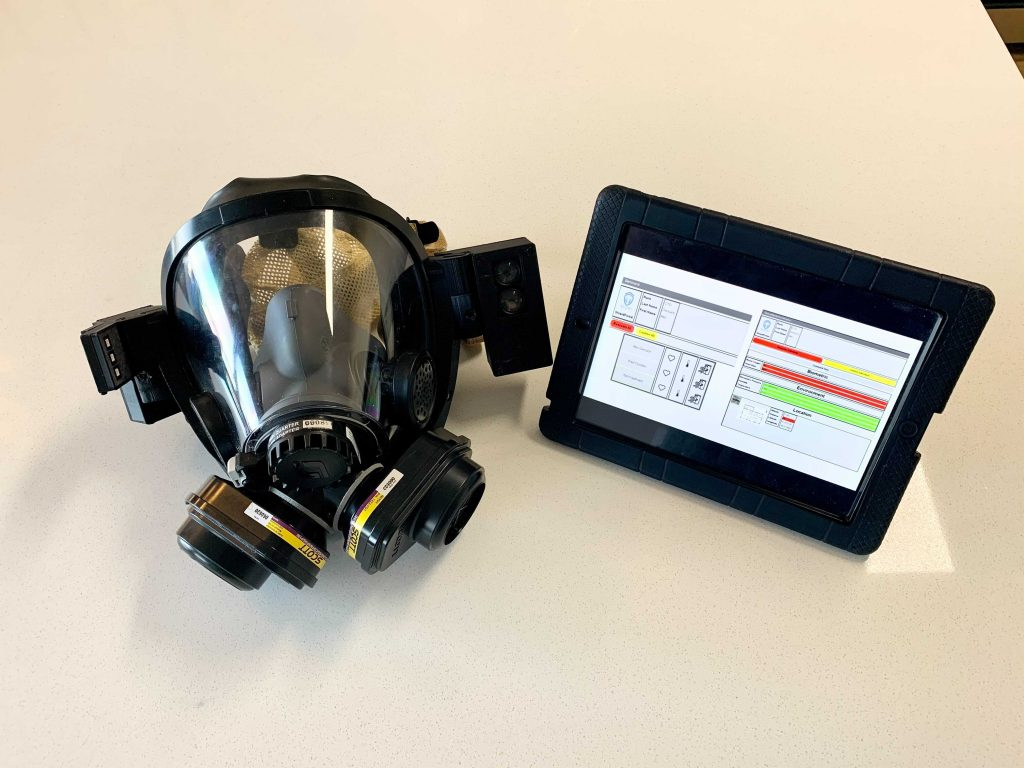 Ascent Technology shield and data with tablet